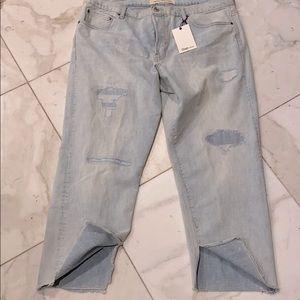 Gap 1969 vintage straight leg cropped jeans nwt